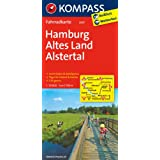 Hamburg -  Altes Land - Alstertal: Fahrradkarte. GPS-genau. 1:70000 (KOMPASS-Fahrradkarten Deutschland)