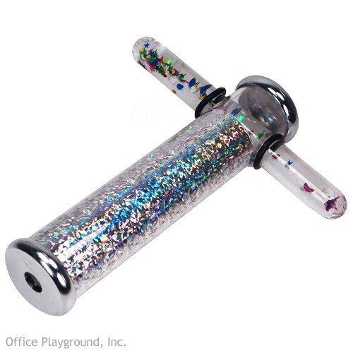 "Toysmith Glitter Wand Kaleidoscope (Colors May Vary), 6"""