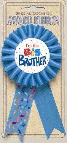I'm The Big Brother Award Ribbon