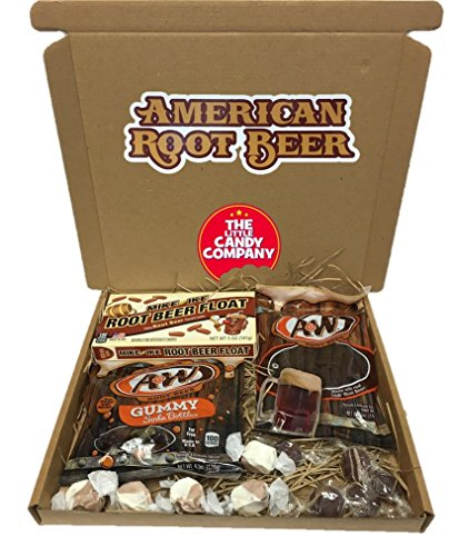 american-root-beer-selection-gift-box-1-x-aw-gummies-1-x-aw-twist-1-x-mike-ike-5-x-salt-water-taffy-