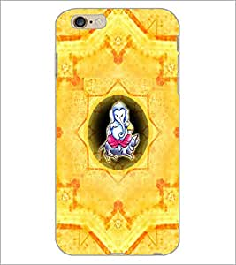 PrintDhaba Lord Ganesha D-2984 Back Case Cover for APPLE IPHONE 6S (Multi-Coloured)