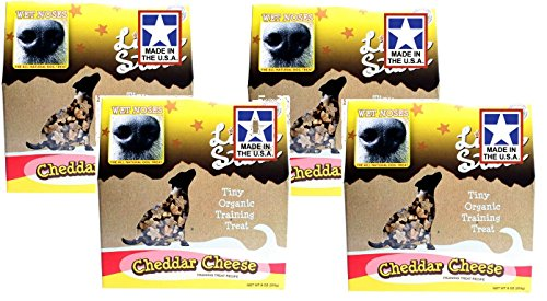 Wet Noses Little Stars Organic Dog Training Treat - Cheddar -9oz (4 Pack) (Wet Nose Dog Bones compare prices)