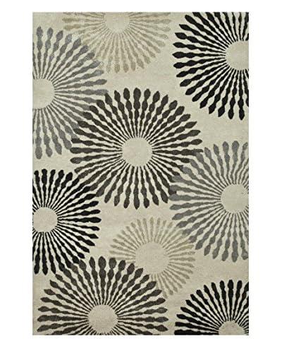 Jaipur Limited Production Hand-Tufted Rug, Ivory/White, 5' x 8'