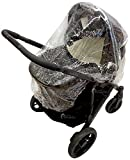 Universal Raincover To Fit Uppababy VistaCruz Carrycot 198