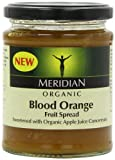 Meridian Organic Blood Orange Fruit Spread 284 g (Pack of 6)