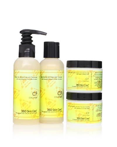 360 Skin Care Clarify Me Citrus Fresh Facial Care 4-Piece Set