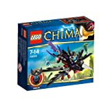 Lego Legends Of Chima - Playthèmes - 70000 - Jeu de Construction - Le Corbeau Planeur de Razcal