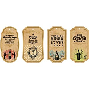 Studio Oh! Gift Tags, Happy Hour