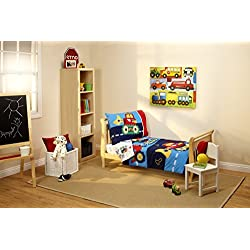 Everything Kids Toddler Bedding Set, Under Construction