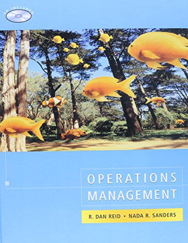 Operations Management 1st Edition with Busines Ethics Set