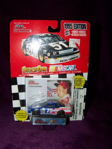 Racing Champions 1995 Todd Bodine Car #75 Nascar Diecast Car