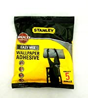 Stanley Consumables Multi Purpose Easy Mix Wallpaper Adhesive 5 Roll STCWAL001 by Stanley