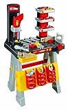Ecoiffier 2380 - Mesa de trabajo para niños con herramientas [importado de Alemania]