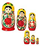 Matreshka Nesting Dolls, Set of 6