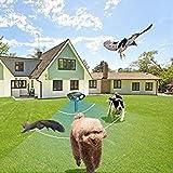 YMissL Dog Cat Animal Repeller Repellent Ultrasonic, Outdoor Solar Animal & Pest Deterrent,Birds Repellent, Rodent Repellent, Deer Repellent, Squirrels Repellent, Skunk Repellent