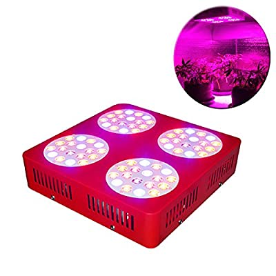 ZNET4 300Watt Full Spectrum LED Grow Light,Made with 72pcs 5w LED Emitters,for Indoor Medical Plants growing and Flowering