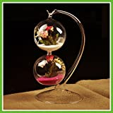 Hot Creative Flower Pot Hanging Double Balls Decorative Glass Table Vase For Air Plant Terrarium Crystal Hydroponic...