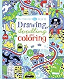 img - for Usborne Blue Book of Drawing Doodling and Coloring book / textbook / text book