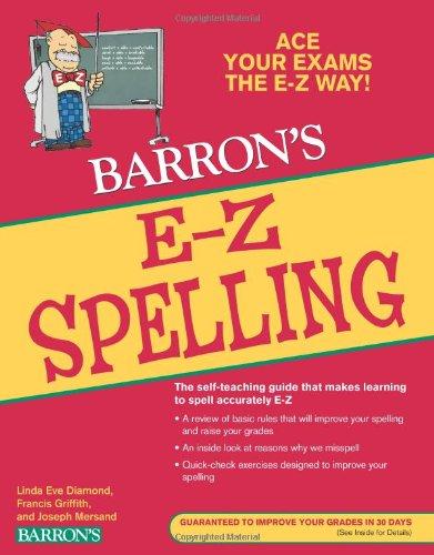 E-Z Spelling (Barron's E-Z Series)