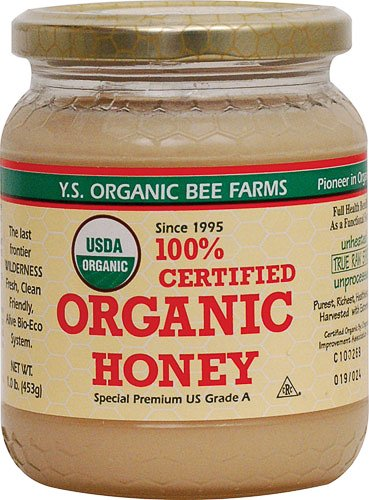 YS Organic Bee Farms Certified Organic Honey 16 oz