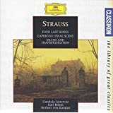 Strauss: Four Last Songs; Capriccio - Final Scene; Death and Transfiguration