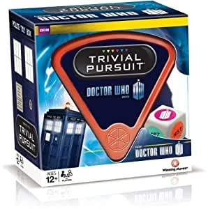 Divine Trivial Pursuit Dr Who 50th Anniversary Edition Board Game - Cleva® Bundle Edition