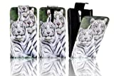 Mobile Phone Flip Business PU Leather Case Cover Sony For Xperia S LT26i Smartphone (TWIN TIGERS)