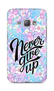 AMEZ never give up Back Cover For Samsung Galaxy J1 (2016 EDITION)