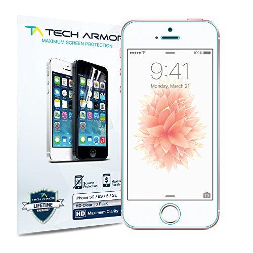 Tech Armor - Pellicola protettiva display Ballistic Glass per Apple iPhone 5