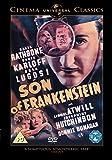 Son of Frankenstein [DVD] [1939]