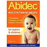 Abidec Multivitamin Supplement for Babies and Children Drop, 25ml