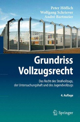 Grundriss Vollzugsrecht: Das Recht Des Strafvollzugs, Der Untersuchungshaft Und Des Jugendvollzugs (Springer-Lehrbuch) (German Edition)