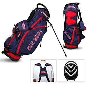 Brand New Mississippi Rebels NCAA Stand Bag - 14 way by Things for You