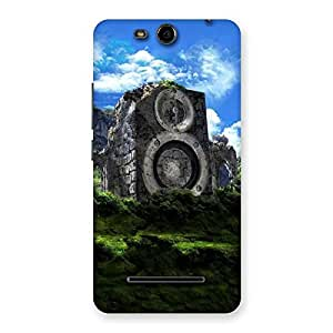 Impressive Mountain Range Speaker Back Case Cover for Micromax Canvas Juice 3 Q392