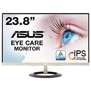 ASUS フレームレス モニター 23.8インチ IPS 薄さ7mmのウルトラスリム ブルーライト軽減 フリッカーフリー