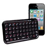 Clavier Mini Sans Fil pour Apple iPhone4, iPhone 3G S & iPod Touchpar Duragadget