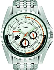 Timex E Class Retrograde Chronograph White Dial Men's Watch T2M431