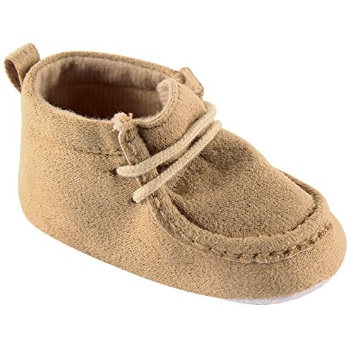 Luvable Friends Boy s Faux Suede Boot Infant Tan 12 18