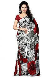JMT Women's Georgette Saree ( JMT110 _ Multi-Coloured )