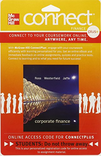 Connect 1-Semester Access Card for Corporate Finance