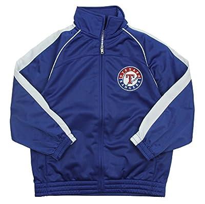 Texas Rangers MLB Big Boys Tricot Track Jacket, Blue