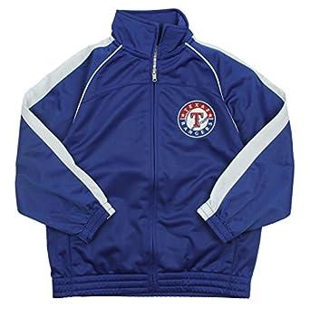 Amazon.com: Texas Rangers MLB Big Boys Tricot Track Jacket