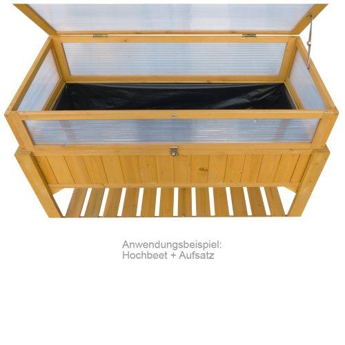 Habau-Hochbeet-mit-Ablage-Gelb-119-x-57-x-90-cm