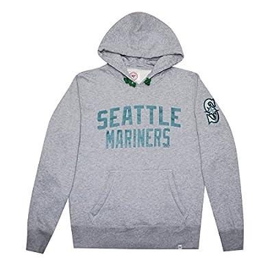 BIG & TALL MLB Seattle Mariners Mens Athletic Pullover Hoodie / Sweatshirt