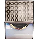 Glassiano Waterproof & Dustproof Printed Washing Machine Cover For BOSCH Front Load Washing Machine WAX16160IN...