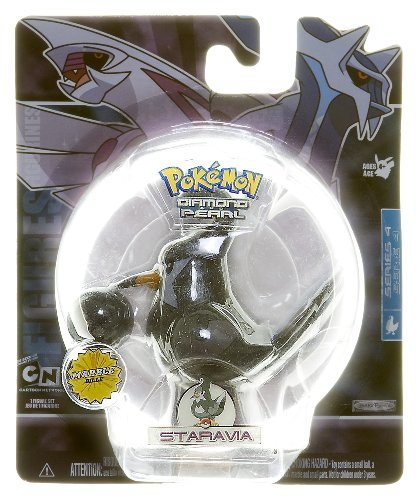 Staravia - Pokemon Diamond and Pearl Marble Series 4 - 1