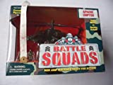 Battle Squads Micro Machines Apache Copter (helicopter)with micro figures (about 1
