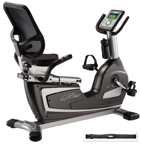 BodyCraft R25 Recumbent Bike  Heart Rate Control 
