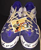 Matt Olson Oakland A's Autographed Signed 2015 Game Used Cleats Spikes 4