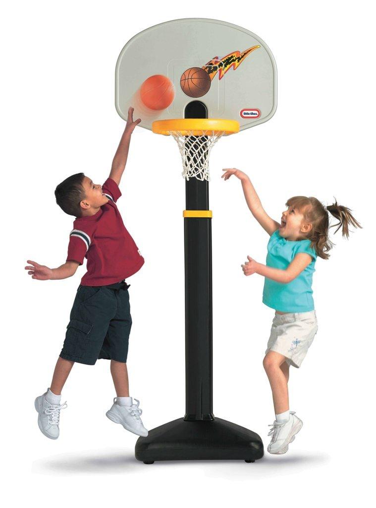 An Image of Little Tikes Adjust 'N Jam Basketball Set